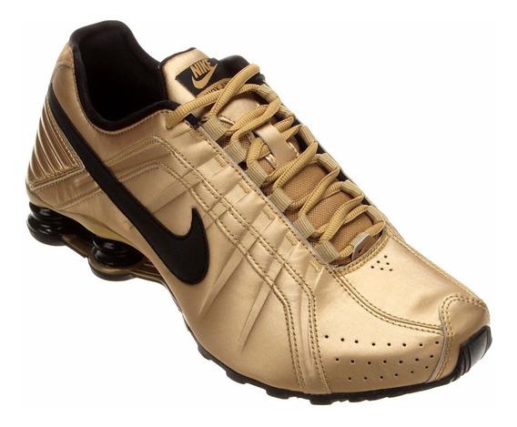 Tênis Nike Original Dourado
