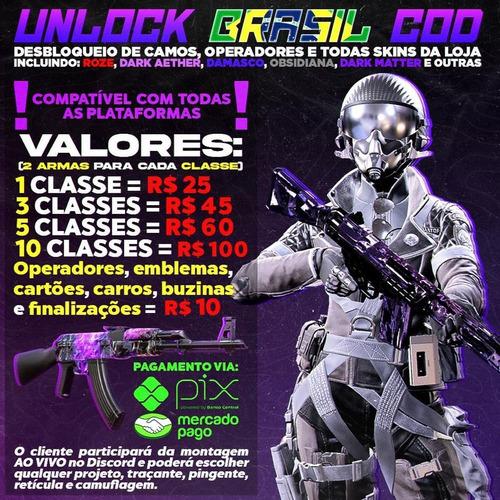 Imagem 1 de 7 de Unlock All - Warzone