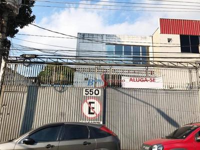 Galpão Industrial Para Locação, Jardim Independência, São Paulo. - Ga0203