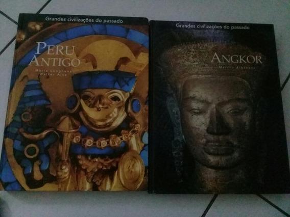 Livros Gdes Civilizações Do Passado Peru Antigo E Angkor