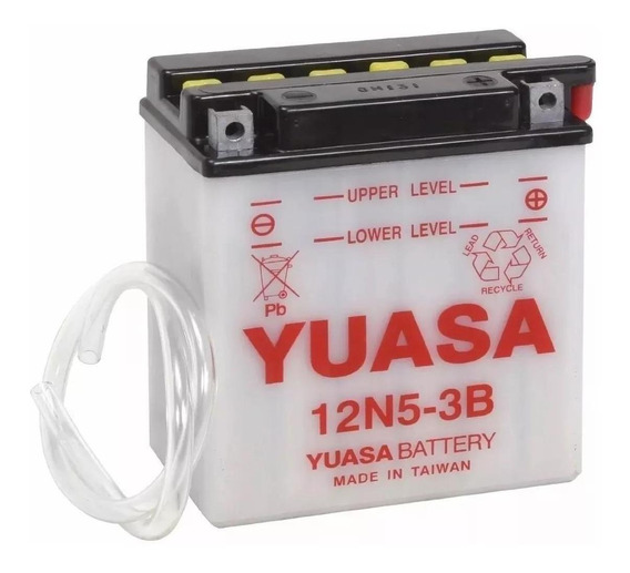 Batería Moto Yuasa 12n5-3b Yamaha Xtz125 2020