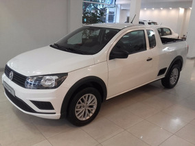Volkswagen Saveiro 1.6 Gp Ce 101cv High 2018 Vw Blanco 0km