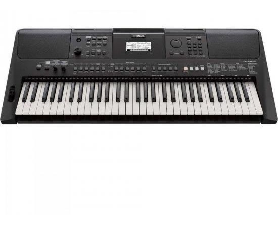 Teclado Arranjador Musical Psr-e463 Preto Yamaha