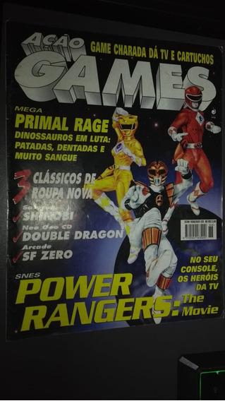 Revista Ação Games Nº 88 Impecável Relíquia