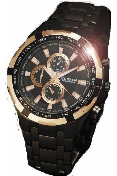 Relógio Original Masculino - Preto C/ Rosê Luxo