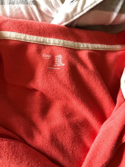 Lote De 5 Camisas Manga Corta Talla Xxl Usadas Calidad 8.5
