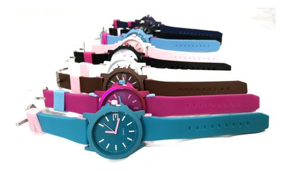 Kit Relógio Feminino Barato Lote C/ 10 Pcs Atacado E Revenda