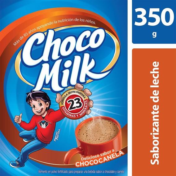 Saborizante En Polvo Chocomilk Sabor Chococanela 350gr