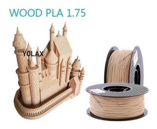 Filamento De Madera 1.75mm Para Impresora 3d