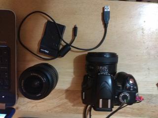 Camara Nikon 3200 24 Mpx Lente Kit