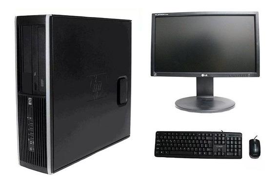 Computador Hp Elite 8300 I7 8gb 120ssd Monitor 18,5 Polegadas