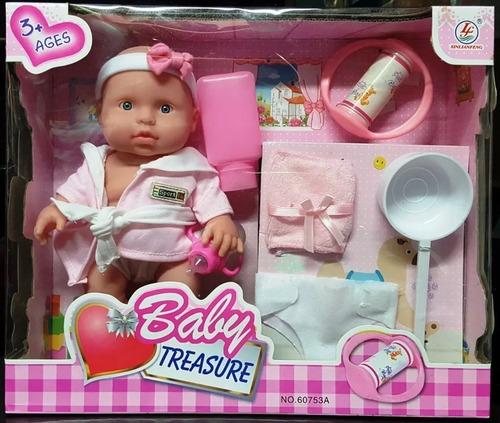 Muñeca Para Niñas Con Accesorios Somos Tienda Cod 616