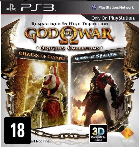 God Of War Origins Collection Ps3 Play3 Promocao !!!