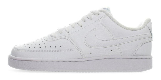 Tenis Nike Court Vision Low - Cd5434100 - Blanco - Mujer