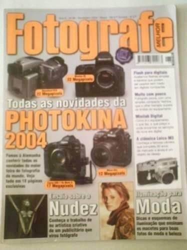 Antiga Revista Fotografe Melhor Nº 98 Novembro De 2004