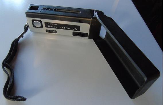 Camera Maquina Fotografica Antiga - Ektra 20 Kodak
