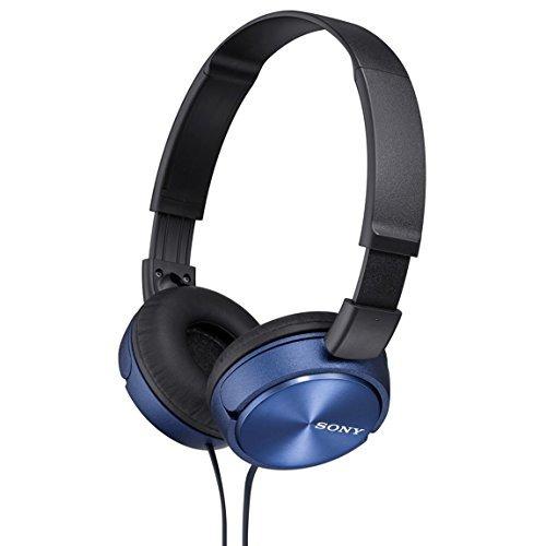 Auriculares Cerrados Sony Dynamic Mdrzx310l Azul