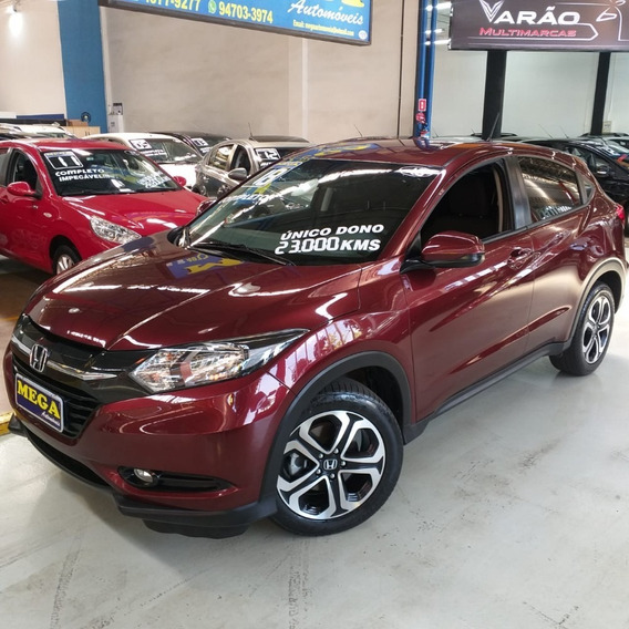 Honda Hrv Lx 1.8 Aut C/central Multimídia ! 23,000kms