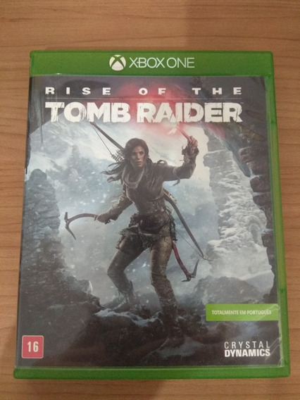 Rise Of The Tomb Raider Xbox One Original Em Ótimo Estado !!