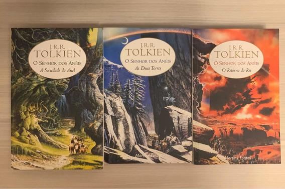 Livro Trilogia O Senhor Dos Anéis