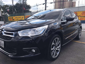 Citroën Ds4 1.6 Thp 168cv Exclusive 2014 Preto Top De Linha