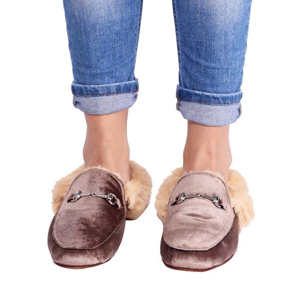 Customs Ba Slipper Mujer Slippers Zapato Zapatos Eco Cuero