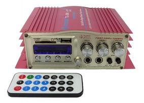 Mini Modulo Amplificador Karaoke Mp3 Fm 400w Frete Grátis