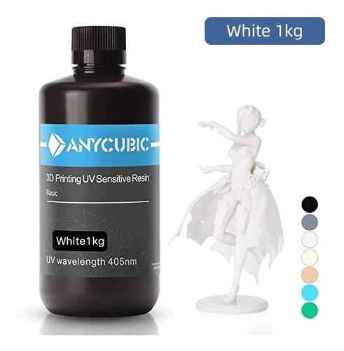 Imagem 1 de 1 de Resina Anycubic 405nm  1 Litro Diversas Cores Pronta Entrega