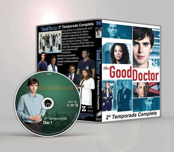 The Good Doctor 1ª 2ª Temporadas Dual Audio Hd Frete Gratis