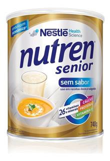 Suplemento Alimentar Nestlé Nutren Senior Sem Sabor 740g