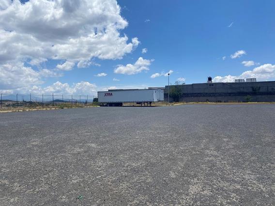 La Noria Mex-qro Patio De Maniobras 6,500 M2 Taller Oficinas
