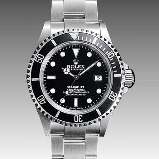 Relogio Masculino Sea Dealer Preto Aço Rolex A A A