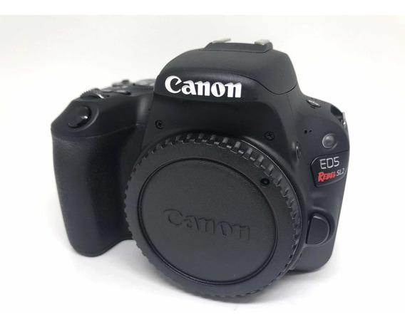 Camera Canon Sl2 + 2bat + Lentes + Fash