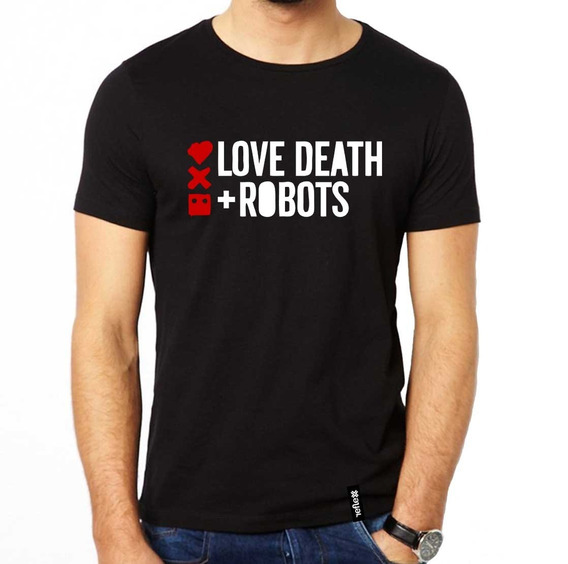 Remera Love Death And Robots 100% Algodón Calidad Premium 3