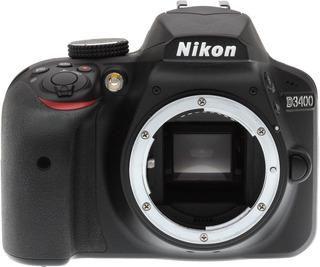 Nikon Dsrl D3400 Body + Memoria 8gb + Disparador Remoto Alt