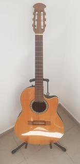 Guitarra Ovation Celebrity Electroacustica Nylon Con Estuche