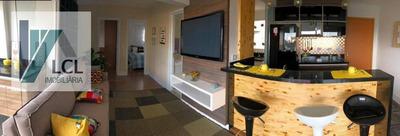 Apartamento Com 2 Dormitórios À Venda, 64 M² Por R$ 270.000,00 - Parque Assunção - Taboão Da Serra/sp - Ap0005