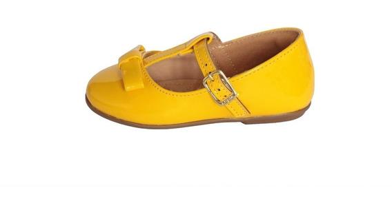 Sapatilha Amarela De Bebe Infantil Sapatinho Amarelo Criança