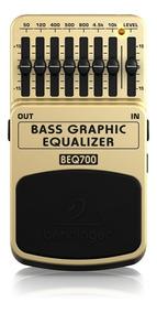 Pedal Behringer Beq700 Equalizador Para Baixo Beq 700