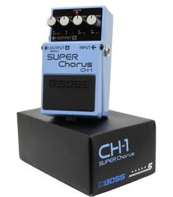 Pedal Boss Para Guitarra Super Chorus Ch-1 Equalizador