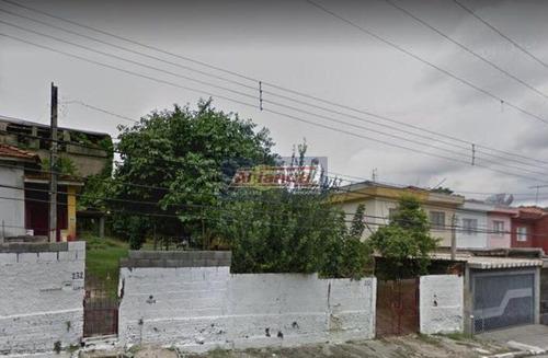Terreno À Venda, 1000 M²- Vila Das Bandeiras - Guarulhos/sp - Ai11915