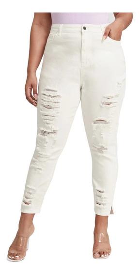 Jeans Rotos Flojos Tiro Alto Mercadolibre Com Mx