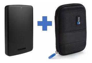 Disco Duro Externo 2 Teras Toshiba Original Usb 3.0 Estuche