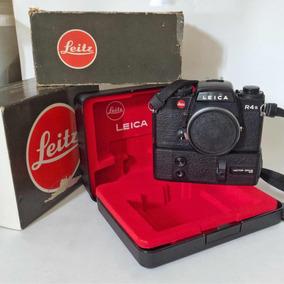 Leica R4s & Motor Drive R4 Com Caixas Originais. Impecáveis!