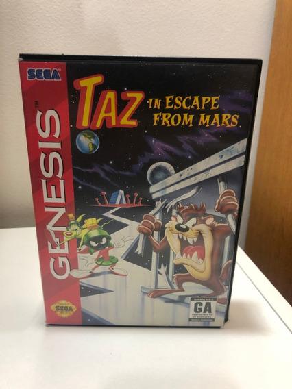 Taz In Escape From Mars - Mega Drive Original E Completo