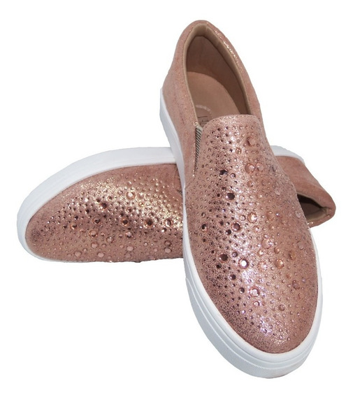Tenis Feminino Slip On - Sapatenis Slipper