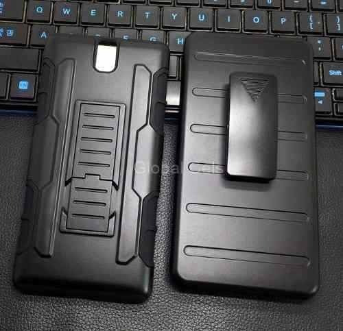 Case Sony Xperia C5 Ultra Protector Holster Funda + Gancho