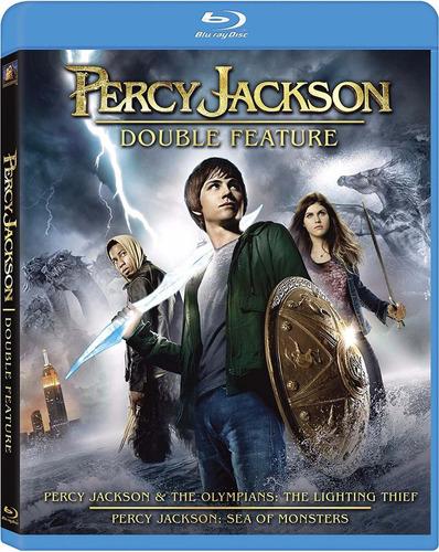 Imagen 1 de 2 de Blu-ray Percy Jackson 1 & 2 / Incluye 2 Films