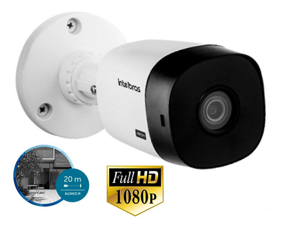 Camera Intelbras Vhl 1220b Full Hd 1080p Hdcvi