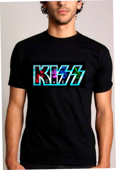 Baby Look Ou Camiseta Kiss